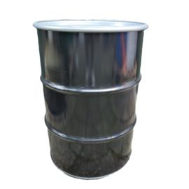 Open top 60 liter drum Black