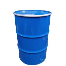 Metalen 200 liter blauw