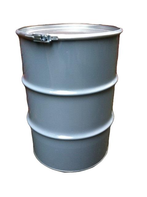 Metalen 60 liter grijs