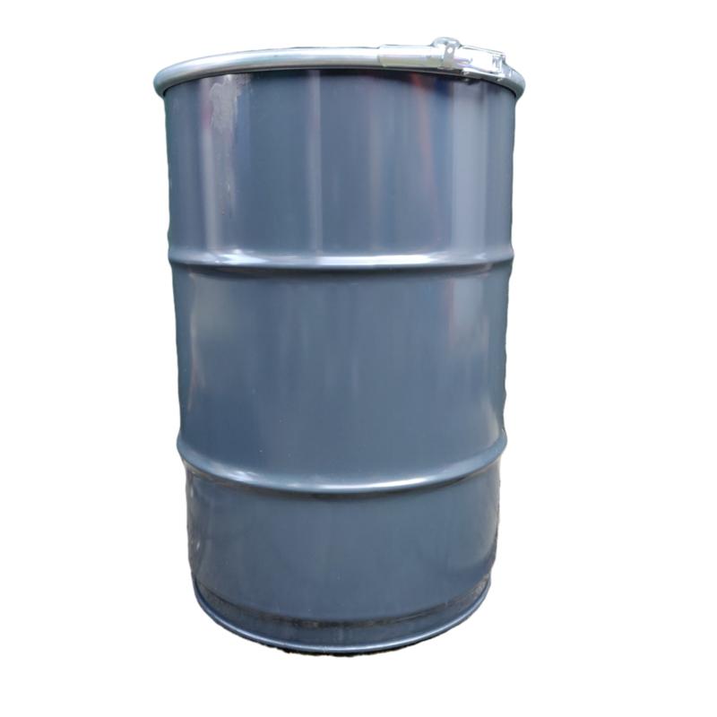 Metalen 60 liter donker grijs
