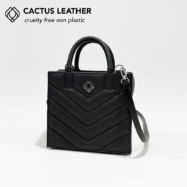 Boxbag Cactus Leather Black