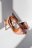 Marylan Pink Sandals by Portamento Shoes