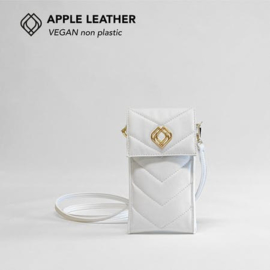 Phonebag in pineapple leather