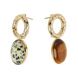 Earrings Sonia Tiger Dalmatien