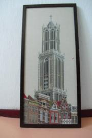 Borduurwerk van de Dom te Utrecht