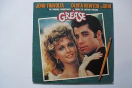 John Travolta & Olivia Newton-John - Grease, dubbel LP