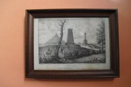 Monumente elevés au Colonel Gordon, et aux Hanovriens, lithografie uit 1825