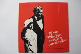 Wim Kan - 40 Jaar Wim Kan met Corry aan zijn zijde, 2 LP's