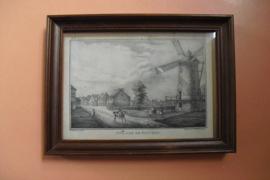 Village De Fleurus, lithografie uit 1825