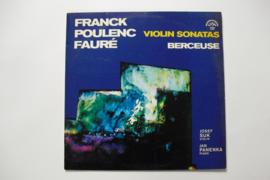 Frank Poulenc Fauré - Violin Sonatas
