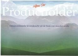 Alfons Ven productboekje (1x per klant)