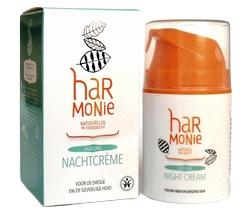 Harmonie Nachtcrème droge/gevoelige huid 50ml