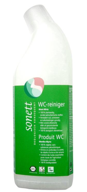Sonett WC reiniger met frisse muntgeur en mirte. 750ml