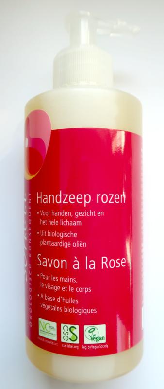 Sonett Vloeibare hand/bodyzeep Rozen dispenser 300ml