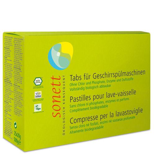 Sonett Vaatwasmachine tabletten. 25 tabs