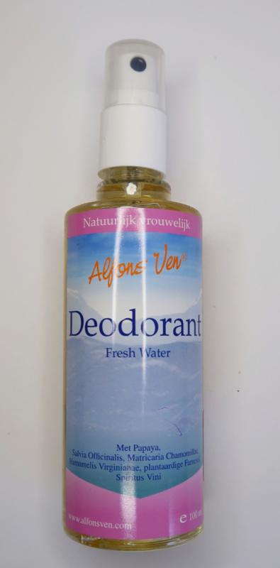 Alfons Ven Fresh Water Deodorant (vrouw) 100ml
