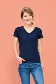Shirt Dames V hals