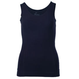 Top ronde hals Enjoy womenswear - BLAUW
