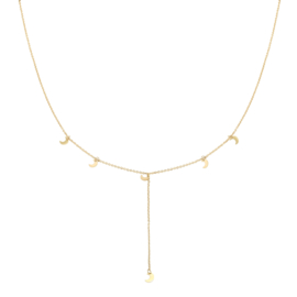 Ketting to the moon - GOUD