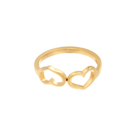 Ring Love #16 - GOUD