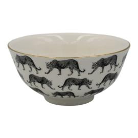 HV Porcelain Bowl Leopard