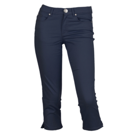 5 pocket broek capri Enjoy  - INDIGO