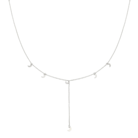 Ketting to the moon - ZILVER