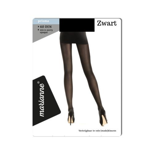Panty 60 DEN - ZWART