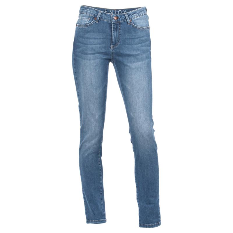 5 pocket broek Enjoy womenswear - LICHT DENIM