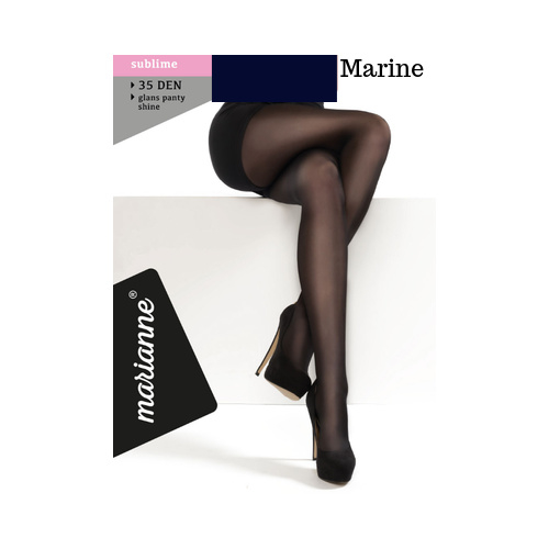 Panty 35 DEN - MARINE