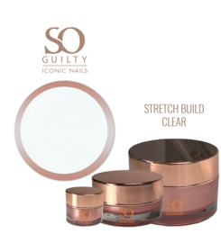 SO GUILTY - STRETCH BUILD clear / light pink