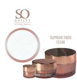 SO GUILTY - SUPREME FIBER clear / rose