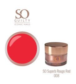 SO SUPERB ROUGE RED 008
