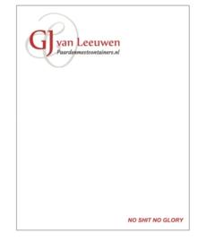 Notitieblok | 2 stuks | GJ