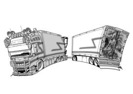Kleurplaat | Scania Next Gen R580 GJ