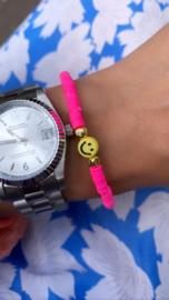 Happy neon pink