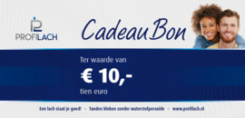 ProfiLach cadeaubon € 10,-