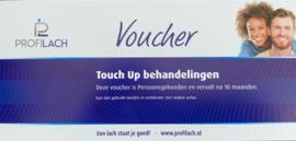 Touch-up voucher gratis