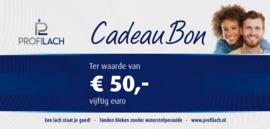 ProfiLach cadeaubon € 50,-