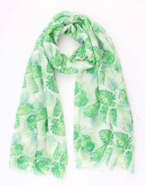 Sjaal Green leaves