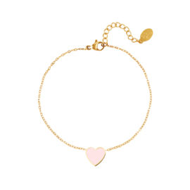 Armband Kleurrijk hart