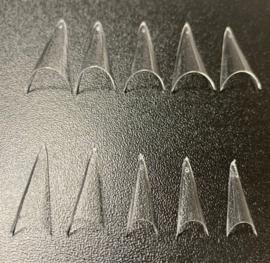 Plush Tips - Stiletto Crystal Clear -Trial