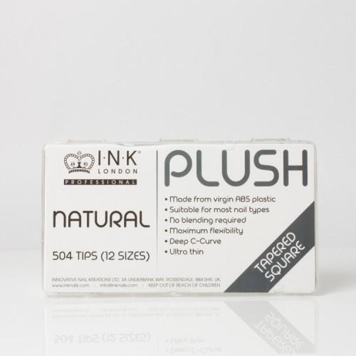 Plush Tips - Tapered Square Natural - Box