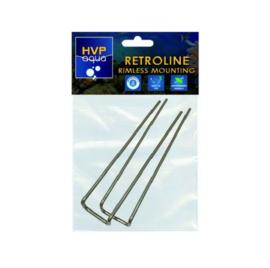 HVP rimless mounting beugel retroline