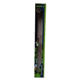 HS aqua glazen voerplaat + buis 30 cm