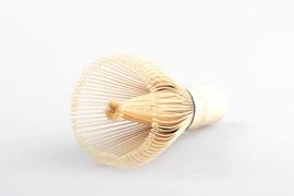 Matcha bamboe klopper