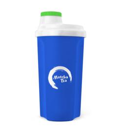 Shaker Matcha Tea blauw