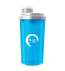 Shaker aqua blauw