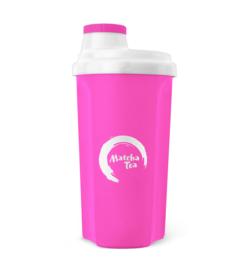 Shaker Matcha Tea neon roze