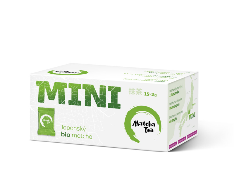 Bio matcha MINI / 15 zakjes van 2gr. (30 gr. matcha)